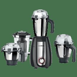 Bosch TrueMixx Pro 1000 Watts 4 Jars Mixer Grinder (Stone Pounding Technology, MGM8842GIN, Dark Grey)_1