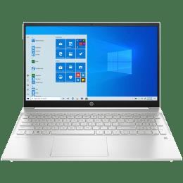 HP Pavilion 15-eg0103TX (2N1K6PA#ACJ) Core i5 11th Gen Windows 10 Home Single Language Thin and Light Laptop (16GB RAM, 512GB SSD, NVIDIA GeForce MX450 + 2GB Graphics, MS Office, 39.62cm, Natural Silver)_1