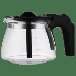 Croma Carafe For Coffee & Tea Maker (6 Cup Coffee Making Capacity, CRAK0029, Black)_1