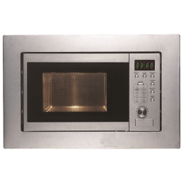 Faber FBIMWO 20 Litres Built-in Microwave Oven (Push Button Control, 131.0520.808, Silver)_1
