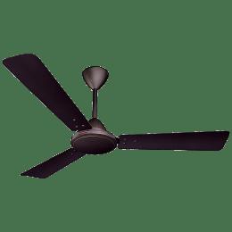 Crompton Jura Prime 120cm Sweep 3 Blade Ceiling Fan (100 Percent Copper Winding, JURAPMAD48BBR, Brakers Brown)_1