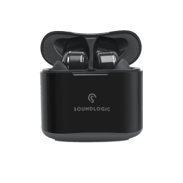 SoundLogic TWS True Beats Pro In-Ear Truly Wireless Earbuds with Mic (Bluetooth 5.0, Voice Assistant, TWE006, Black)_1