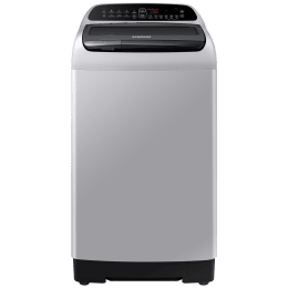 Samsung 8 kg 5 Star Fully Automatic Top Load Washing Machine (Direct Inverter Motor, WA80T4560VS, Silver)_1