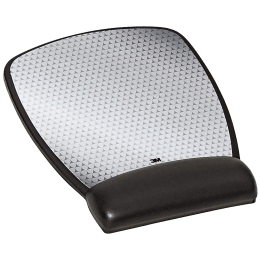 3M MW309LE Mouse Pad For Mouse (Non-Skid Base, Kanfa120, Black)_1