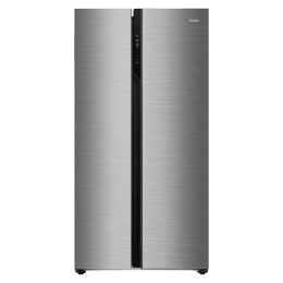 Haier 570 Litres Frost Free Inverter Side-By-Side Door Refrigerator (0.98 Unit Consumption, HRF-622SS, Shiny Steel)_1