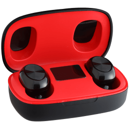 Lumiford Maximus In-Ear Passive Noise Cancellation Truly Wireless Earbuds with Mic (Bluetooth 5.0, Hands-Free Binaural Calling, T50, Black)_1