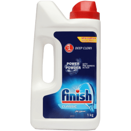 Finish Detergent Powder For Dishwasher (Remove Proteins, Starch and Oil Stains, 3035135, Blue)_1