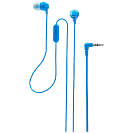 Sony In-Ear Wired Earphone with Mic (Crisp and Clear Sound, MDR-EX14AP, Blue)_1