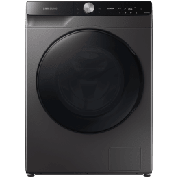 Samsung 10.5 kg/7 kg Fully Automatic Front Load Washer Dryer Combo (Eco Bubble Technology, WD10T704DBX/TL, Inox)_1