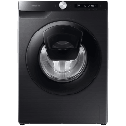 Samsung 8 kg 5 Star Fully Automatic Front Load Washing Machine (Digital Inverter Motor, WW80T554DAB/TL, Black Caviar)_1