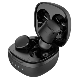 Ambrane NeoBuds 22 In-Ear Truly Wireless Earbuds with Mic (Bluetooth 5.0, Clear Calling, Black)_1