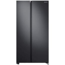 Samsung 692 Litres Frost Free Digital Inverter Side-by-Side Refrigerator (Curd Maestro, SpaceMax Technology, RS72A50K1B4/TL, Gentle Black Matt)_1