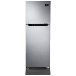 Samsung 253 Litres 2 Star Frost Free Digital Inverter Double Door Refrigerator (Stabilizer Free Operation, RT28A3132S8/HL, Elegant Inox)_1