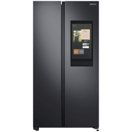 Samsung 673 Litres Frost Free Digital Inverter Side-by-Side Refrigerator (Curd Maestro, SpaceMax Technology, RS72A5FC1B4/TL, Gentle Black Matt)_1