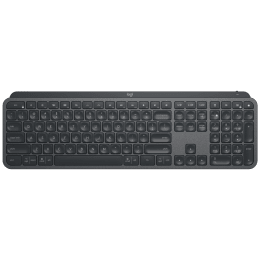 Logitech MX Keys Bluetooth, USB Keyboard (Hand Proximity Sensors, 920-009418, Black)_1