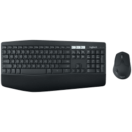 Logitech MK850 Bluetooth, Wireless Keyboard & Mouse Combo (Advanced Optical Tracking, 920-008233, Black)_1