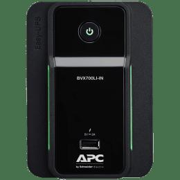 APC UPS For Laptop & Desktop & Mobile & Tablet (Intelligent Battery Management, BVX700LI-IN, Black)_1