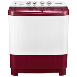 Voltas Beko 8 kg 5 Star Semi-Automatic Top Load Washing Machine (Special Pulsator Technology, WTT80DBRT, Burgundy)_1