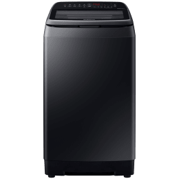 Samsung 8 kg 5 Star Fully Automatic Top Load Washing Machine (Inverter Technology, WA80N4770VV/TL, Black Caviar)_1