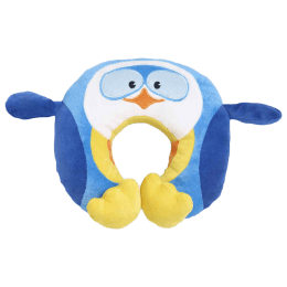 Travel Blue Puffy the Penguin Polyester Neck Pillow (Soft and Comfortable, Multicolor)_1