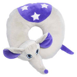 Travel Blue Flappy The Elephant Polyester Neck Pillow (Soft and Comfortable, Multicolor)_1