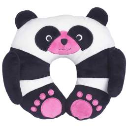 Travel Blue Chi Chi The Panda Polyester Neck Pillow (Soft and Comfortable, Multicolor)_1