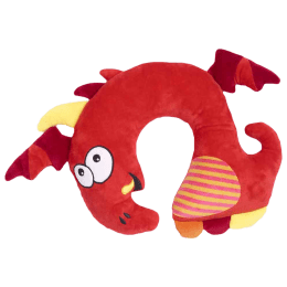 Travel Blue Tobi The Dragon Polyester Neck Pillow (Soft and Comfortable, Multicolor)_1