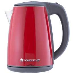 Wonderchef Crimson Edge 1.2 Litres 1500 Watts Electric Kettle (Detachable Base, Reliable Thermostat, 63153541, Red)_1
