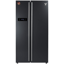 Panasonic 584 Litres Frost Free Inverter Side-by-Side Refrigerator (Quick Freeze Mode, NR-BS60VKX1, Dark Grey Steel)_1