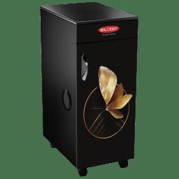 Milcent Fivestar Super VC 210 150 Watts 6.5 kg Flour Mill Machine (Inbuilt Vaccum Cleaner, Black/Gold)_1
