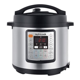 Nutricook by NutriBullet 6 Litres Electric Cooker (9-Appliances in-1, NCSPEK6, Silver)_1