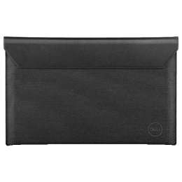 Dell Premier Leather Magnetic Snap, Heather Outer, Microfiber Lining Sleeve for 15 Inch Laptop (Lightweight Construction, PE1521VX, Black)_1