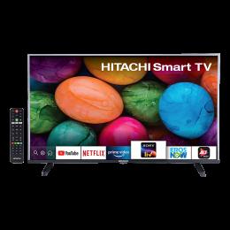 Hitachi 100cm (39.5 Inch) Full HD LED Android Smart TV (3 Years Warranty, LD40VRS02F, Black)_1