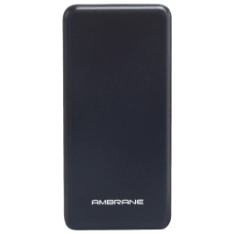 Ambrane 10000mAh 2-Port Power Bank (Over Charge Protection, PP128, Black)_1