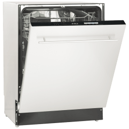 Elica 12 Place Setting Built-in Dishwasher (8 Wash Programs, WQP12-7711, Stainless Steel)_1