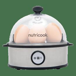 Nutricook by Nutribullet Rapid 7 Eggs Electricity Egg Boiler (NC-EC360, Silver)_1