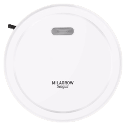 Milagrow Seagull Prime 30 Watts Robotic Vacuum Cleaner (0.65 Litres Tank, White)_1
