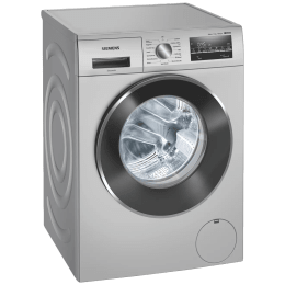 Siemens iQ500 7.5 kg 5 Star Fully Automatic Front Load Washing Machine (WaterPerfect Plus Technology, WM14J46IIN, Silver)_1