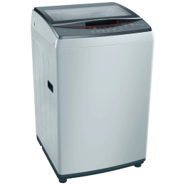 Bosch Serie 4 7.5 kg 5 Star Fully Automatic Top Load Washing Machine (Multiple Water Protection, WOE754Y1IN, Grey)_1