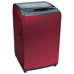 Bosch Serie 4 7.5 kg 5 Star Fully Automatic Top Load Washing Machine (Multiple Water Protection, WOE754C1IN, Metallic Red)_1
