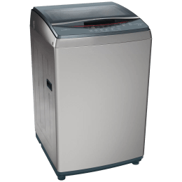 Bosch Serie 4 8.5 kg 5 Star Fully Automatic Top Load Washing Machin (Multiple Water Protection, WOE854D1IN, Dark Silver)_1