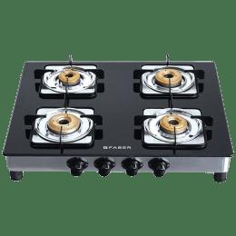 Faber Supreme Plus C 4 Burners Hob Cooktop (4BB AI, Black)_1
