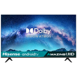 Hisense A71 Series 146cm (58 Inch) Ultra HD 4K LED Android Smart TV (3 Years Warranty, Built-in Chromecast, 58A71F, Black)_1