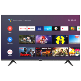 Hisense A71 Series 177cm (70 Inch) Ultra HD 4K LED Android Smart TV (3 Years Warranty, Built-in Chromecast, 70A71F, Black)_1