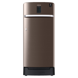 Samsung 198 Litres 3 Star Direct Cool Inverter Single Door Refrigerator (Stabilizer Free Operation, RR21A2F2YDX/HL, Luxe Brown)_1