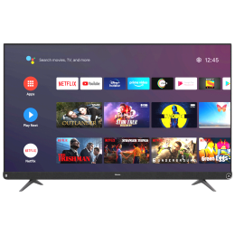 Hisense A73 Series 164cm (65 Inch) Ultra HD 4K LED Android Smart TV (3 Years Warranty, Built-in Chromecast, 65A73F, Black)_1