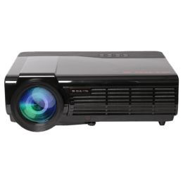 Egate P513 Android HD LED-LCD Projector (3600 Lumens, HDMI + USB + VGA + DisplayPort + Aux + Bluetooth + Ethernet + Wi-Fi, Replaceable Lens, EG P513, Black)_1
