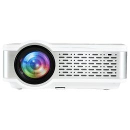 Egate i9 HD Basic HD LED-LCD Projector (2400 Lumens, HDMI + USB + VGA + SD/mSD + Aux, Digital Zoom with XY Control, E03i31, White)_1