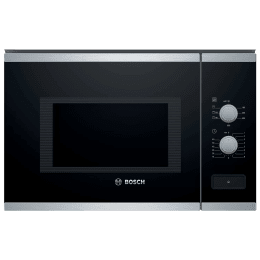Bosch Serie 4 25 Litres Built-in Microwave Oven (Automatic Safety Switch Off, BEL550MS0I, Black/Silver)_1
