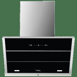 Hindware Maple 1250 m³/hr 60cm Filterless Chimney (Thermal Auto Clean, 517484, Black)_1